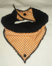 Bibble - Picnic Gingham Orange