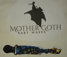 Mother Goth Nifty Noose Clip stars